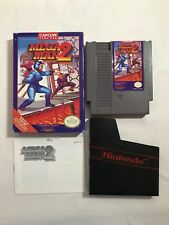 Mega Man 2 (NES Nintendo Entertainment System, 1989) Complete in NICE Box