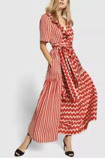 Stella McCartney GABRIELLE Striped Silk Maxi Dress S/US4/IT40 NWT $2,480.