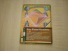 Carte Naruto Four Flames Formation rare !!!
