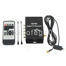 Car Digital TV ATSC Tuner Receiver Box with 4 Video Output For United States US!