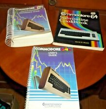 Commodore 64 Manual Bundle: User's Guide, Programmer's Reference Guide, Cookbook