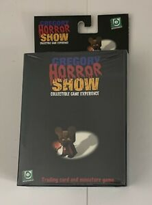 Gregory Horror Show Trading Card Game New -SEALED - Painted Miniatures