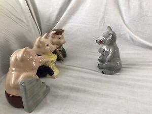 Wade The Three Little Pigs and the Big Bad Wolf Collection
