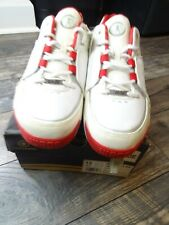 2005 CONVERSE DWAYNE WADE CITY OX LOW WHITE RED SHOES 107845 SIZE 13