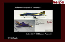 Luftwaffe McDonnell Douglas F-4F  Phantom Pharewell Luftwaffe Herpa 1/500 LTD