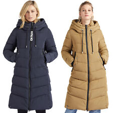 khujo Ayleena Damen-Steppmantel Winter-Mantel Jacke Parka Synthetik wattiert NEU