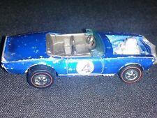 Vintage 1969 Reline Hotwheels Blue #4 Light-My-Firebird Hong Kong