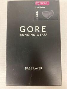 Gore Running Wear Women's Essential Base Layer Lady Running Briefs Sz S (36)