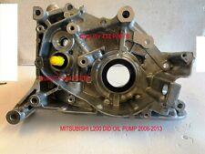 Mitsubishi L200 DiD 16v Engine Crankshaft OIL PUMP  2006+