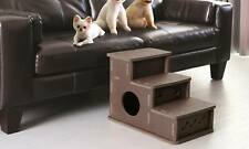 Interlocking Foam Pet Steps With Hideaway - Small Dog Cat Stairs Set