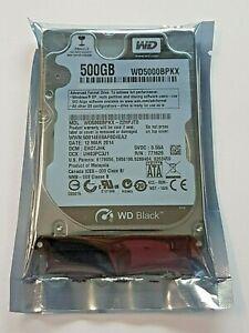 """500 GB SATA Western Digital WD5000BPKX-22HPJT0 7200rpm 16MB 2.5 """" Hard Drive New"""