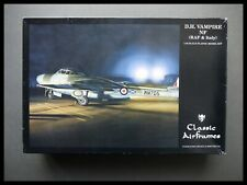 D.H. VAMPIRE NF 1:48 SCALE CLASSIC AIRFRAMES MODEL KIT Sealed Bag