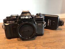 Minolta X700 35mm Camera With Flash