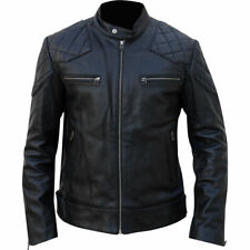 Mans High Quality leather jacket genuine Sheep Skin Leather And Polyester Lining