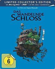 DAS WANDELNDE SCHLOSS -HAYAO MIYAZAKI (BD+DVD, LIMITED STEELBOOK) 2 BLU-RAY NEU