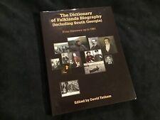 FALKLAND ISLANDS & SOUTH GEORGIA, DISCOVERY-1981 HISTORY BIOGRAPHIES GENEALOGY