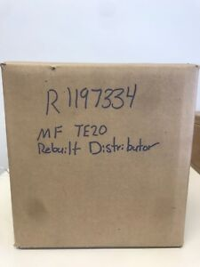 Rebuilt Ferguson TE20 Distributor