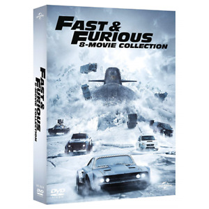 FAST AND FURIOUS - 8 Film Collection (8 Dvd)