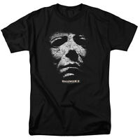 Michael Myers Halloween II Movie Mask Licensed Tee Shirt Adult Sizes S-3XL