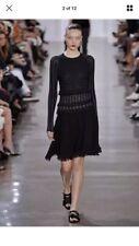 Jason Wu Black Tassels Midi Dress