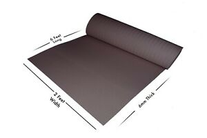 Yoga Mat 6 MM Eva Material 7 Colors Available Non-Slippy 7 Days Delivery