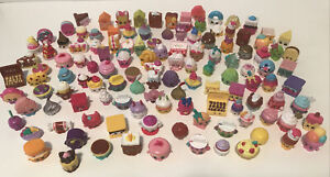 Great Mixed Seasons Lot of Shopkins Dessert Cakes Muffin Bakery Ice Cream & More