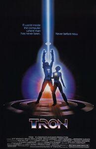 Tron movie poster  : 11 x 17 inches : Jeff Bridges