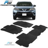 Fits 12-15 Honda Civic Heavy Duty Latex Floor Mats Front /& Rear Full Set