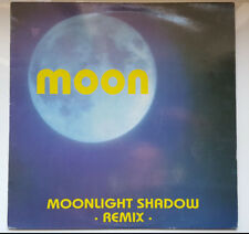 "MOON ""MOONLIGHT SHADOW REMIX"" RARE SPANISH 12"" VINYL / MIKE OLDFIELD - EURODANCE"
