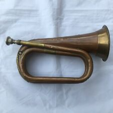 More details for boosey & hawkes bugle boys brigade vintage made in england with crest