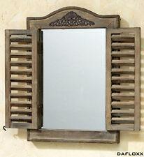 Deko-Spiegel im Landhaus-Stil aus Holz für den Flur/die Diele