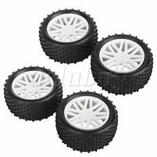 RC1:10  Buggy Model Car Long-Lasting Tire With  Plastic White Wheel Rim Set of 4