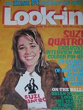 Look-In Magazine 27th Juillet 1974 - Suzi Quatro