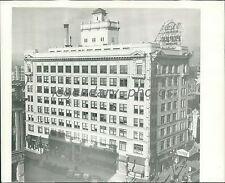 1937 Utah Oil Building Salt Lake City Original News Service Photo