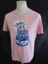 T-shirt Japan Rags Rose Taille L à - 56%