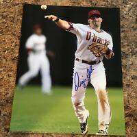 Augie Ojeda Signed 8x10 Photo Chicago Cubs Arizona Diamondbacks Autograph