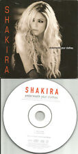 SHAKIRA Underneath your Clothes ACOUSTIC 2TRX CARD SLEEVE CD Single USA seller