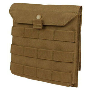 Condor Side Plate Utility Pouch - Coyote - MA75-498- MOLLE PALS