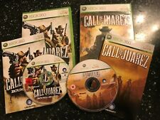 2 COMPLETE XBOX 360 GAMES CALL OF JUAREZ & BOUND IN BLOOD