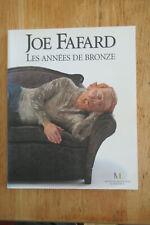 Joe Fafard les années de bronze Sculpture Saskatchewan 1996