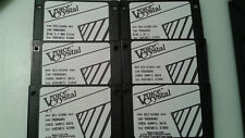 KURZWEIL ~ K2000/K2500/K2VX ~ VOICE CRYSTAL ~ 6/Disk Set ~ 500 VAST. Progs+Case!