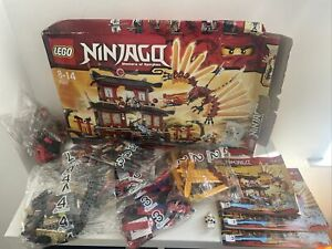 Lego Ninjago Fire Temple 2507 Golden Weapons, 2 BAGS OPENED, The Rest Sealed