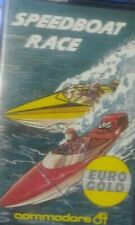 Speedboat Race (Eurogold, 1986) C64 Kassette (Box, Tape) 100% ok