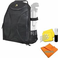 LARGE BACKPACK CARRYING CASE FOR CANON EOS REBEL DSLR CAMERAS FITS LAPTOP
