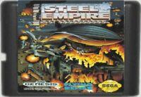 Steel Empire (1992) 16 Bit Game Card For Sega Genesis / Mega Drive System