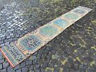 Runner rug, Handmade wool rug, Hallway rug, Turkish rug   2,0 x 11,1 ft