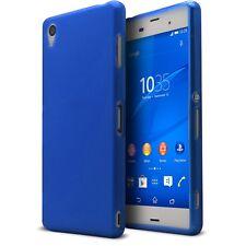 Coque Housse Pour Pour Xperia Z3 Semi Rigide Gel Extra Fine Mat/Brillant Bleu