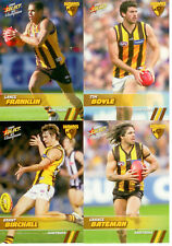2008 Select AFL Champions Trading Card  Base Card Team Set Hawthorn (12)