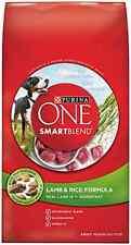 Purina ONE SmartBlend Dry Dog Food, Lamb & Rice Formula, 8-Pound Bag, Pack of 1
