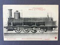 ±1910 LOCOMOTORA VAPOR de ESPAÑA No 515 1863  Schneider Creusot TREN locomotive